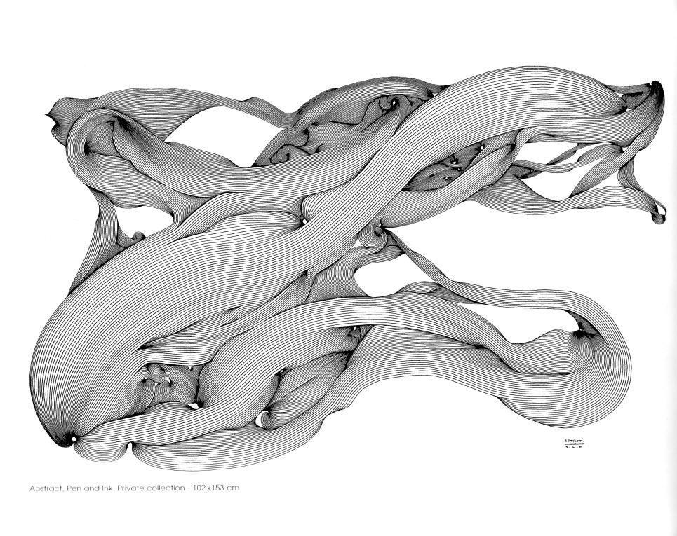 نقاشی هوشنگ سیحون در نمایشگاهی با پیکاسو(6)-دیجیاتو