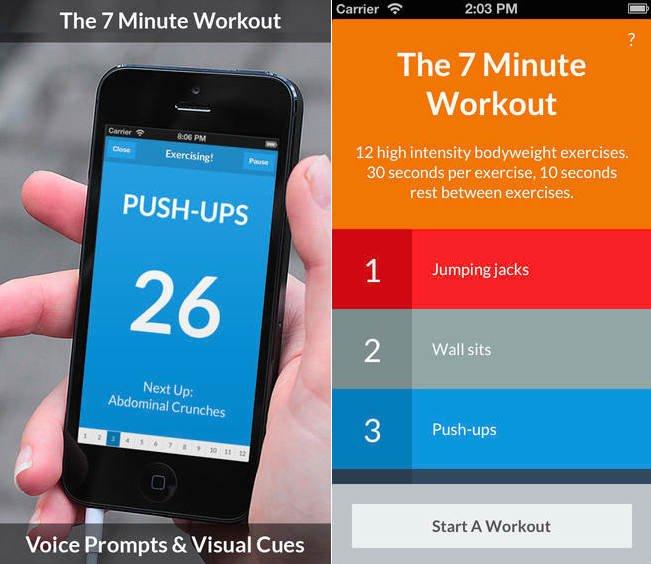 7 Minute Workout برای iOS