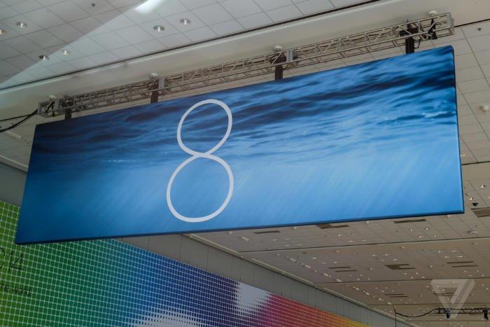این هم یک عکس جدید از بنر iOS 8.