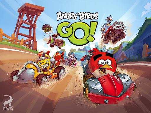 اپلیکیشن بازی Angry birds go