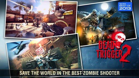 اپلیکیشن بازی اندروید آیفون آیپد Dead Trigger 2