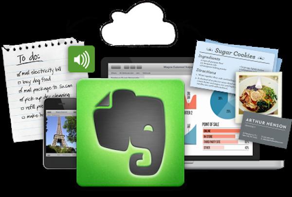 اپلیکیشن یادداشت برداری و مدیریت کار اورنوت evernote