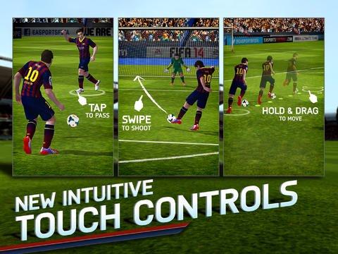 اپلیکیشن بازی fifa 14
