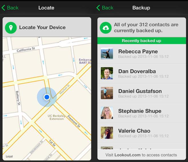 لوک اوت برای iOS و اندروید