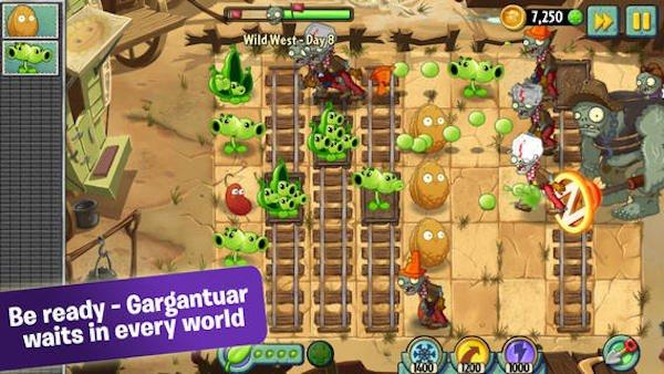 بازی plants-vs.-zombies-2