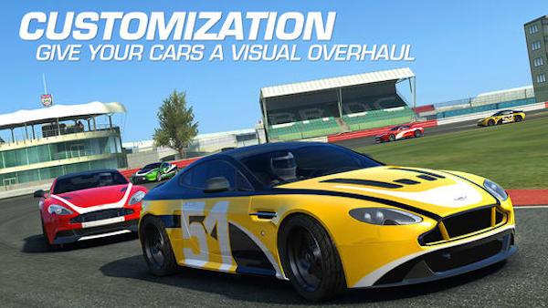 بازی real racing 3 مسابقه ماشین