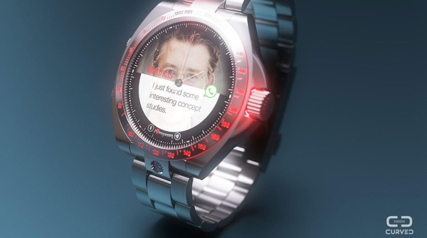 ساعت هوشمند رولکس rolex smartwatch concept