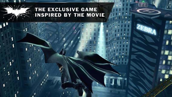 اپلیکیشن بازی اندروید آیفون آیپد batman بتمن the dark knight rises