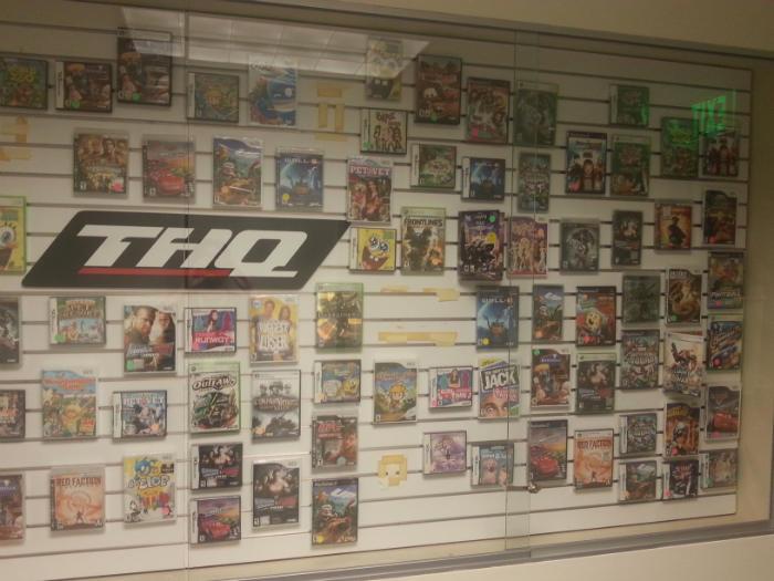 یک تاریخچه کامل از کل فعالیت های THQ در یک تصویر