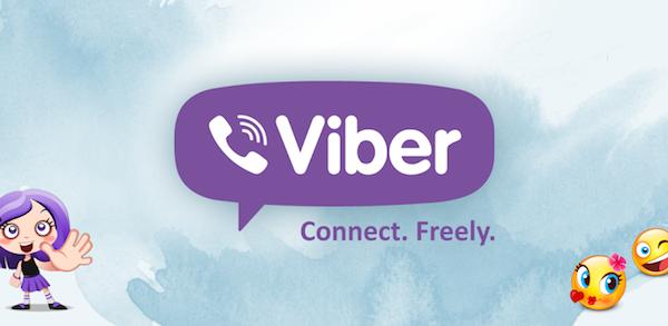 اپلیکیشن پیام رسان اینترنتی وایبر viber