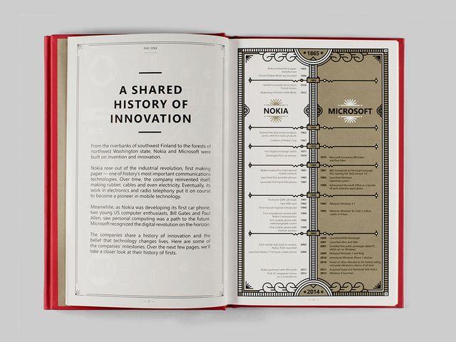 تاریخچه مایکروسافت و نوکیا در یک صفحه.