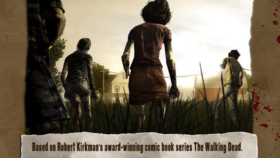 دانلود اپلیکیشن بازی the walking dead