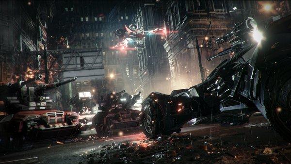 صحنه ای از نبرد بتموبیل ها، بخشی که به تازگی معرفی شده. در E3 امسال منتظر معرفی کامل این بخش باشید
