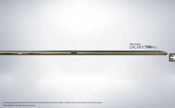 تبلت گلکسی تب اس سامسونگ samsung galaxy tab s tablet