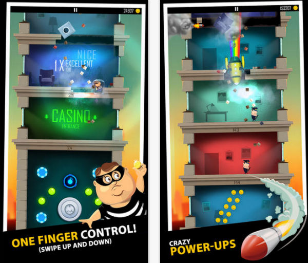 اپلیکیشن بازی dady was a thief
