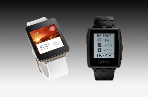 ساعت هوشمند پیبل اندروید android wear pebble