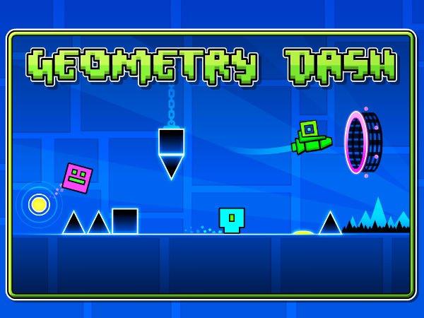 اپلیکیشن بازی geometry dash
