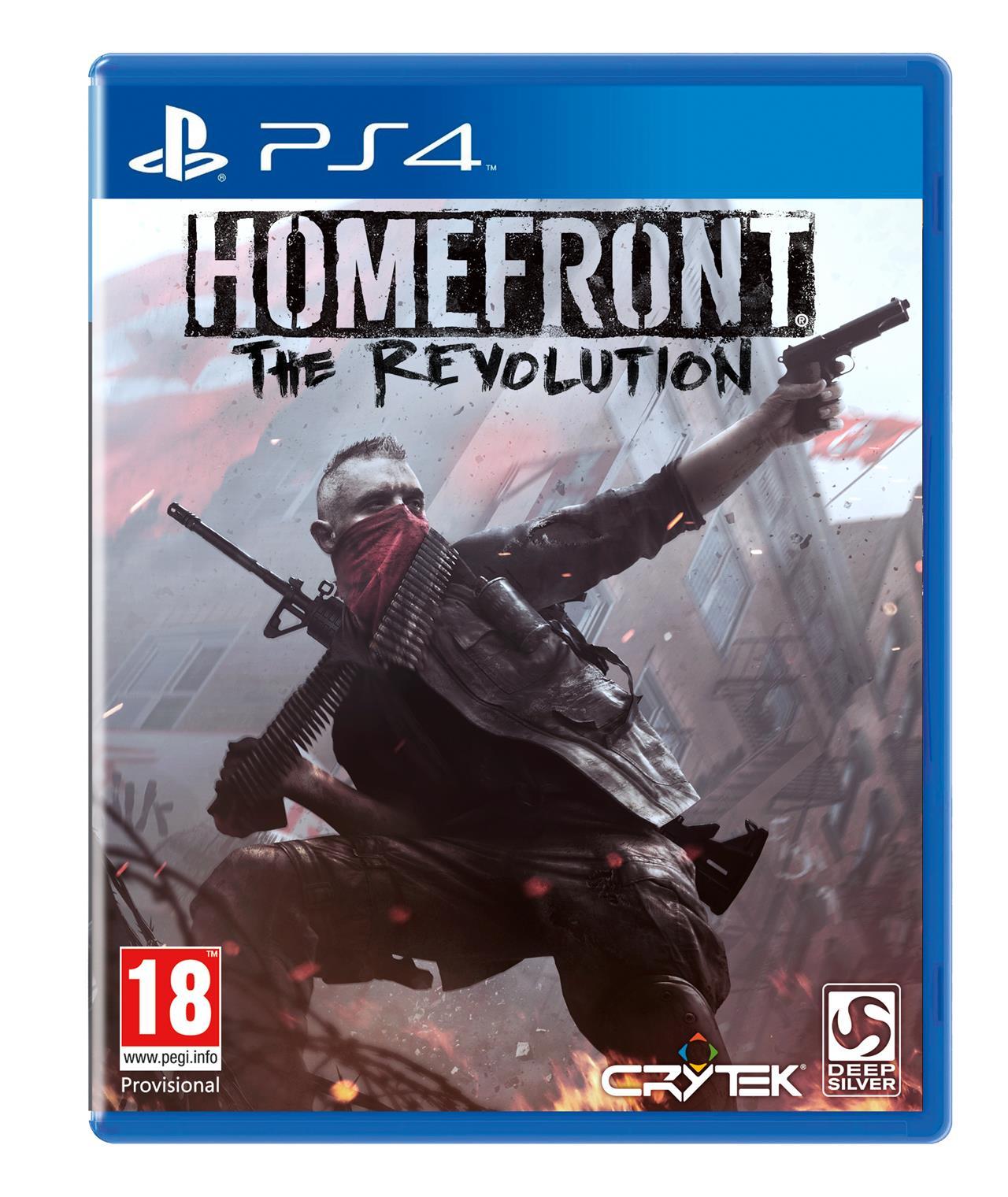 باکس آرت نسخه پلی استیشن 3 بازی Homefront: The Revolution