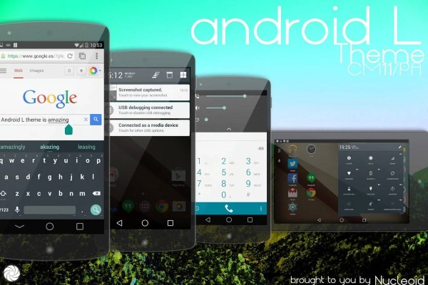 Android L Theme - CM11