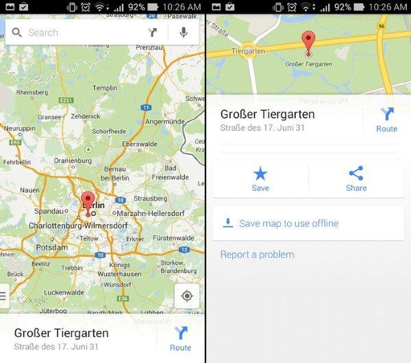 """اپلیکیشن نقشه گوگل قابلیتی دارد که به وسیله آن، محدوده مورد دلخواه خود را می توانید دانلود کنید و بدون نیاز به اینترنت به آن دسترسی داشته باشید. در غیر اینصورت لود شدن تصاویر نقشه باعث بالا رفتن مصرف دیتا خواهد شد. برای راهنمایی بیشتر به مطلب """"چگونه از گوگل مپ در حالت آفلاین استفاده کنیم؟"""" مراجعه کنید."""