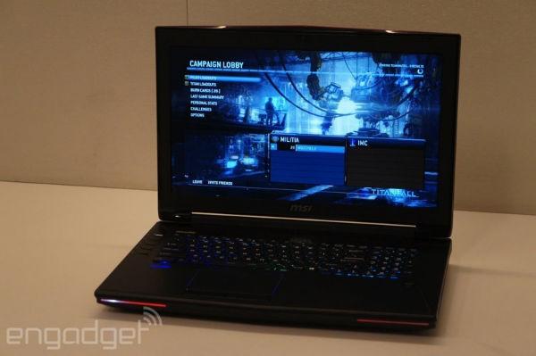 لپتاپ مخصوص بازی MSI Laptop ام اس آی