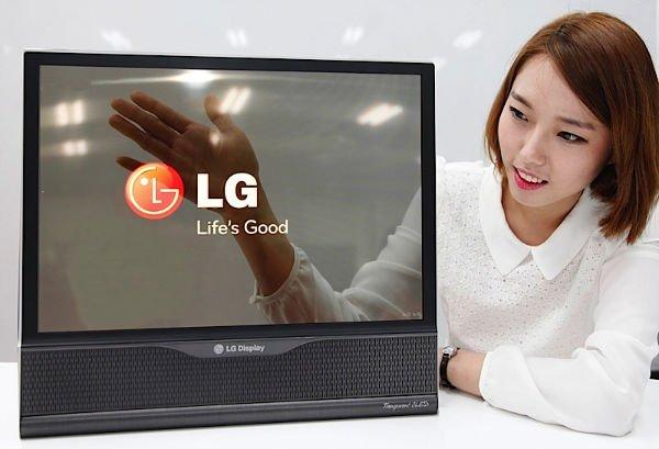 تلویزیون خمیده ال جی lg tv