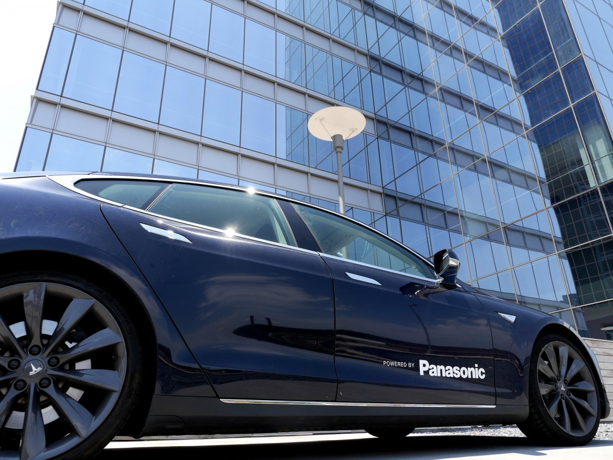 the-campus-includes-an-electric-car-charging-station-for-the-tesla-model-s-all-teslas-are-powered-by-panasonic-lithium-ion-battery-cells