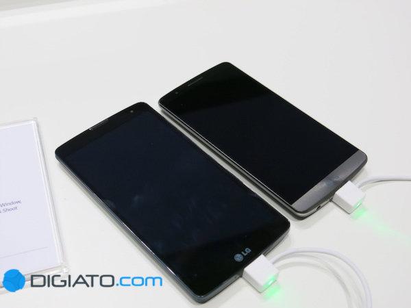 LG Vista در کنار G 3