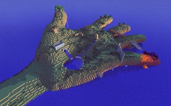 minecraft-hand-island-download