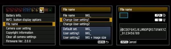 Customize File Names