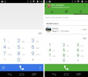 Google Dialer and Hangouts Dialer