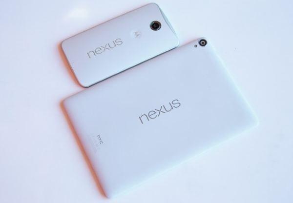 nexus 6 and 9
