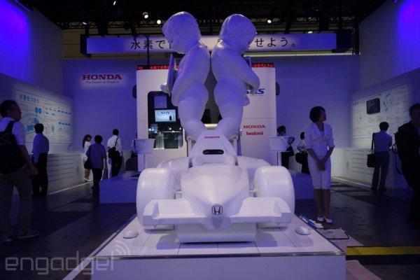 اتومبیل هیدروژنی هوندا