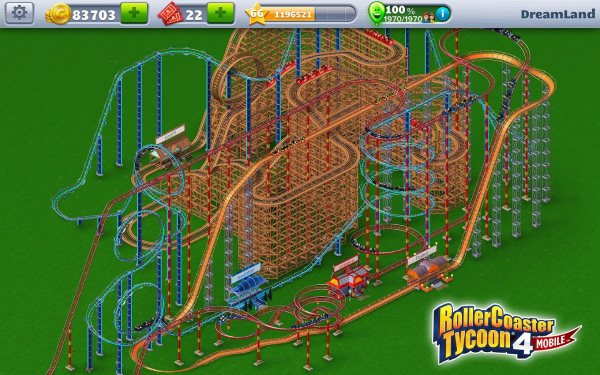 RollerCoaster Tycoon 4-1