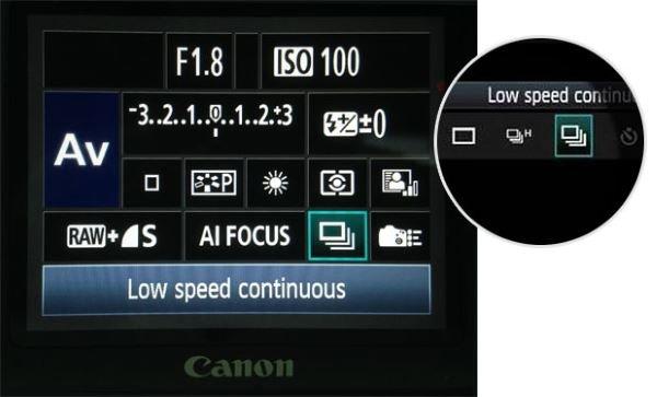 Continuous Drive Modes