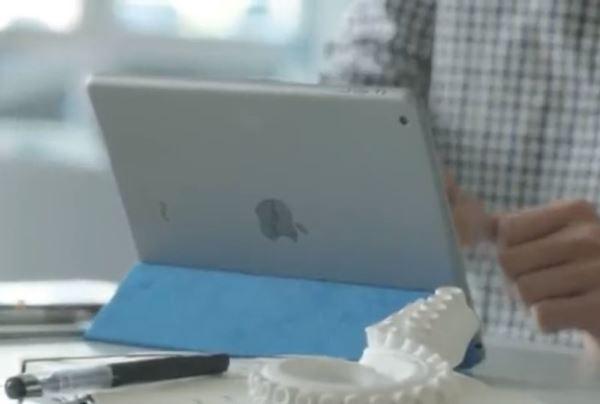 آیپد در ویدئو مایکروسافت