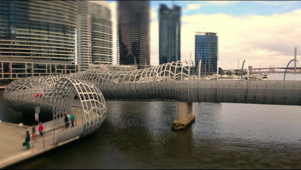 Melbourne---tilt-shift-photography-with-the-Z3-Compact