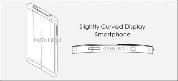 Samsung-curved-smartphone-patent