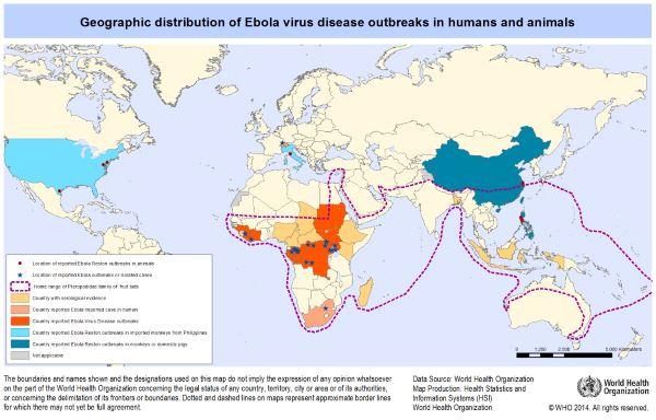 geographic ebola