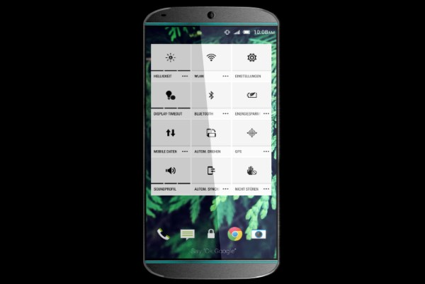 گالری تصاویر طرح مفهومی HTC One M9