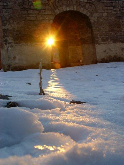 انقلاب زمستانی در چارتاقی نیاسر
