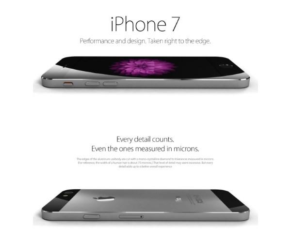 گلری تصاویر طرح مفهومی iPhone 7