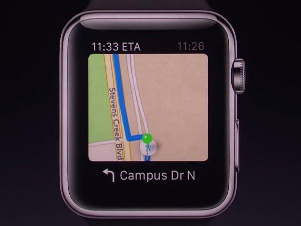 امکان مسیریابی نیز از طریق ساعت وجود دارد. سر پیچ ها، ساعت ویبره خورده و شما را با خبر می کند.