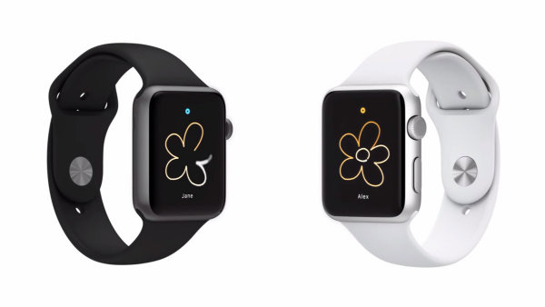 امکان کشیدن نقاشی و ارسال بی درنگ آن به دوستان از طریق ساعت اپل وجود دارد.