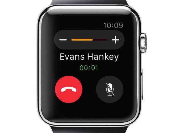 امکان پاسخگویی به تماس ها از طریق ساعت اپل وجود دارد.