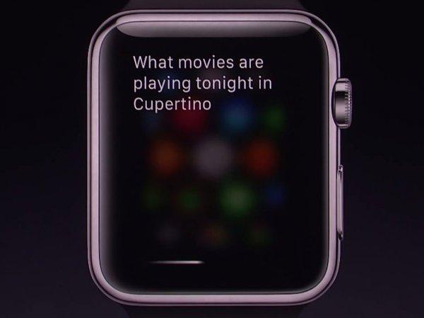 سیری در ساعت اپل هم همراه کاربر است. درست مثل آیفون و آیپد.