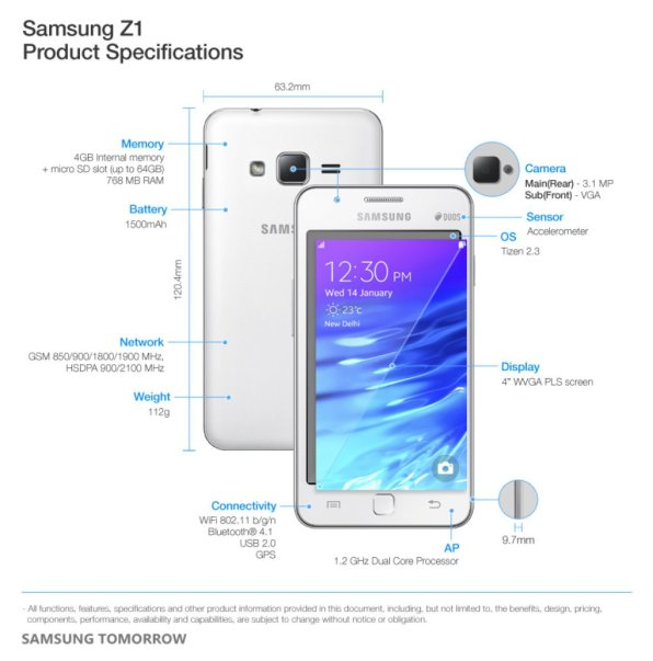 Samsung-Z1-Product-Specifications1.0