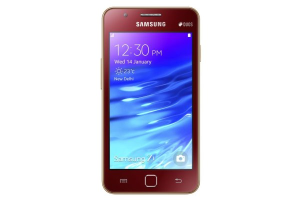 Samsung_Z1_Front_Red.0