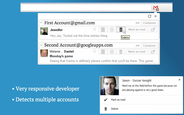 Checker Plus for Gmail 11