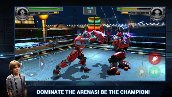 Real Steel Champions Logo scr